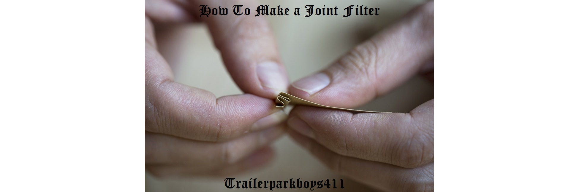 How To Make a Joint Filter