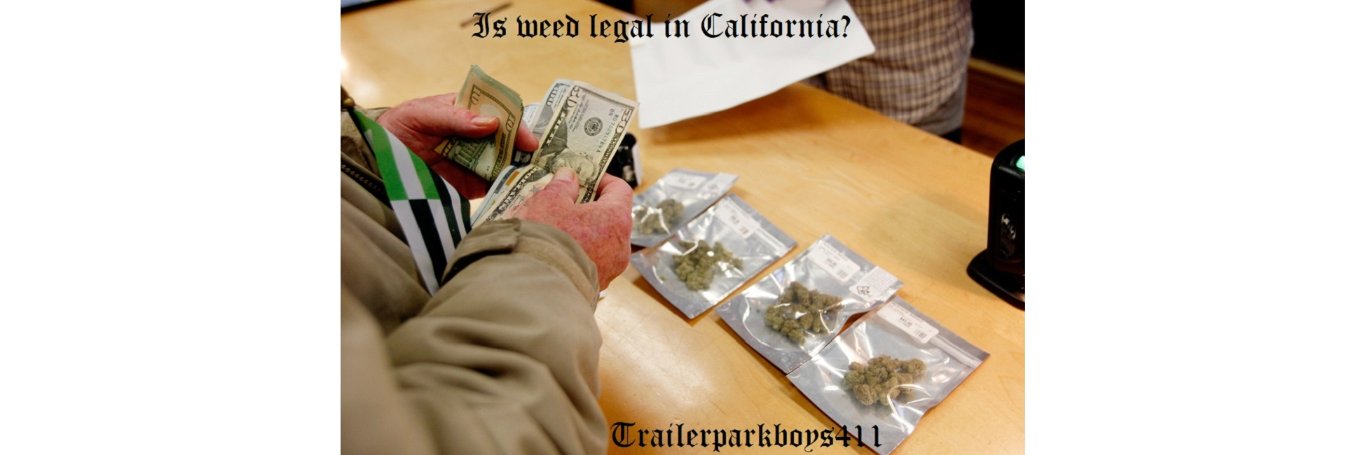 Is weed legal in California