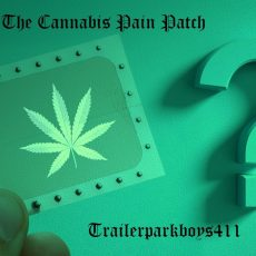 The Cannabis Pain Patch