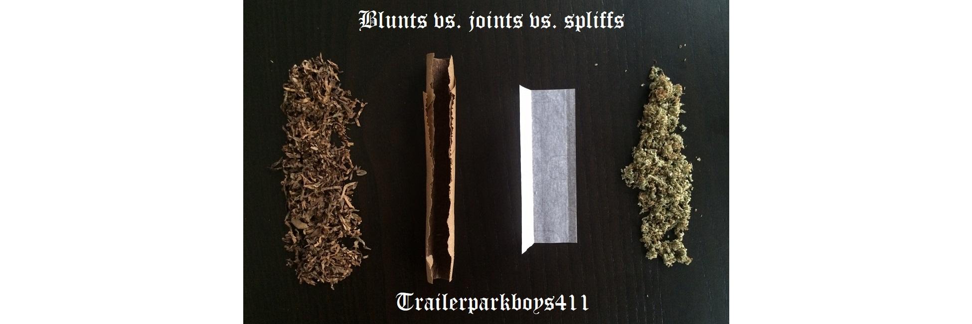 Blunts vs. joints vs. spliffs