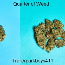 Quarter of Weed