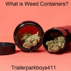 What is Weed Containers