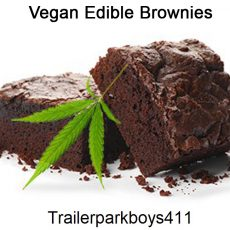 Vegan Edible Brownies