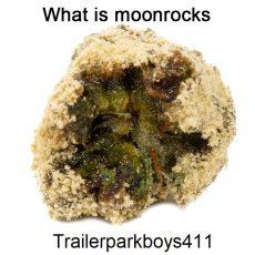What is moonrocks